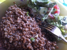 Buckwheat- a staple. Considered a superfood in US